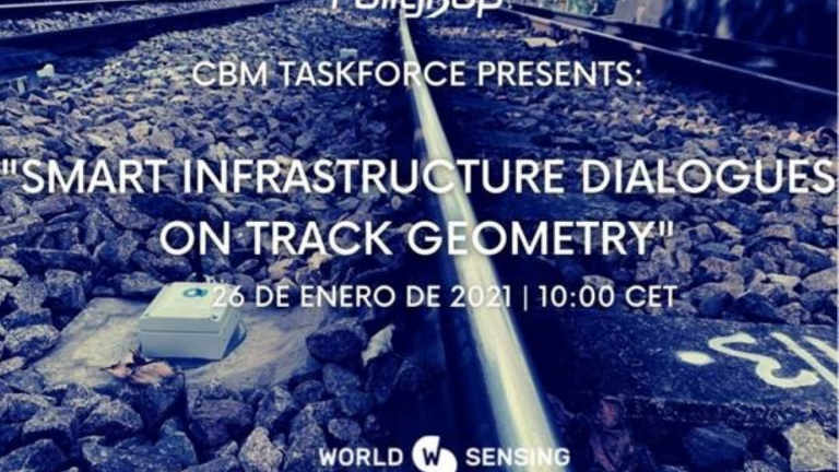 Smart Infrastructure Dialogue Series - Tracking Stability & Geometry