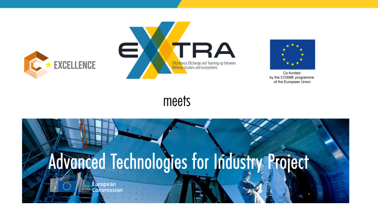 ERCI Workshop | EXXTRA meets Advanced Technologies for Industry Project